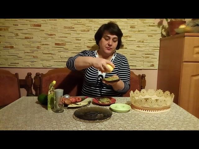 Бутерброды для похудения с авокадо.