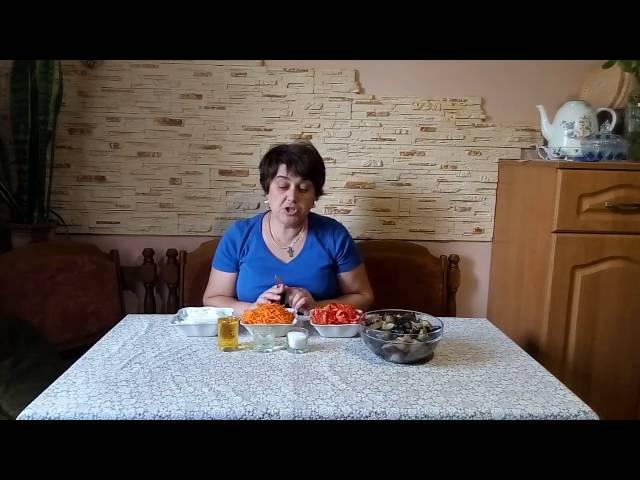 Обалденный салат из баклажан-супер рецепт!
