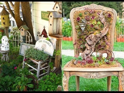 Интересные элементы декора для вашего сада! Дача ТВ