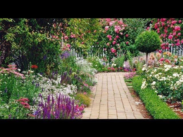 Как обустроить идеальный сад?  Дача ТВ