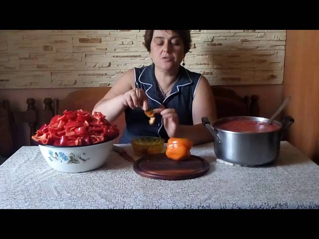 Лечо.Классический рецепт венгерской кухни.