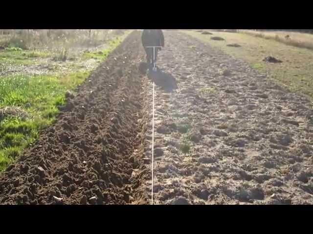 Осенняя вспашка, после уборки урожая картофеля Видео обзор Электроплуг Лебёдка сельскохозяйственная