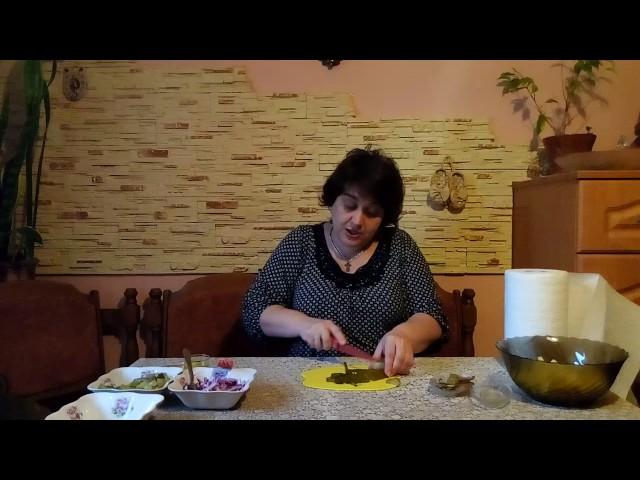 Салат «Деревенский»#постный салат из картофеля#