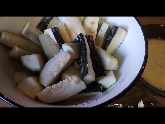 Вкуснющиe кабачковые полена—чудесное решение дя выезда на природу.