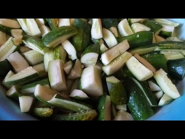 Вкуснейший салат «Жанна» на зиму.Салат из ОГУРЦОВ в ГОРЧИЧНО—ЧЕСНОЧНОМ МАРИНАДЕ.