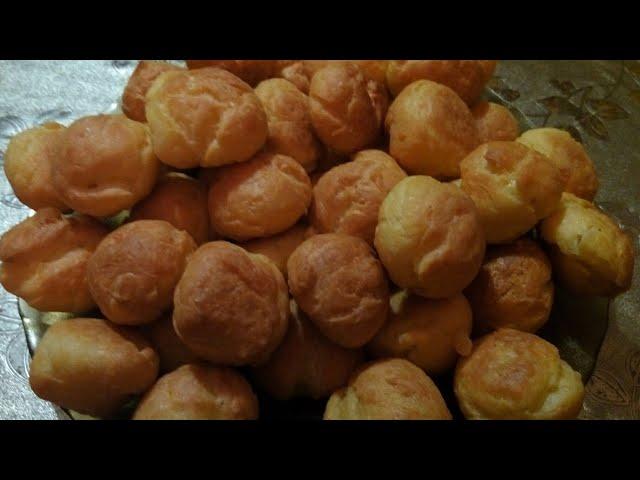 «Гужеры» —вкусные французские булочки из заварного теста.