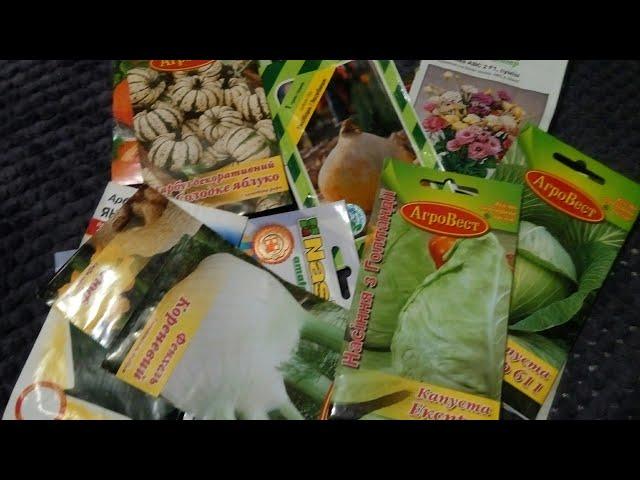 Просроченные семена!!!Зачем я их купила?