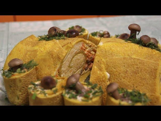 Удивите Гостей! Салат «Полено с Грибами» — Потрясающий Салат на Новый Год.