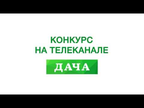 Конкурс на Телеканале Дача