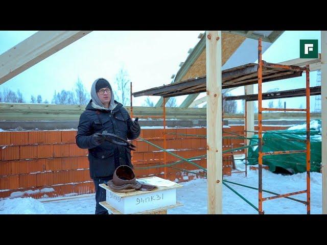 Проходные элементы каркасной и СИП-крыши // FORUMHOUSE