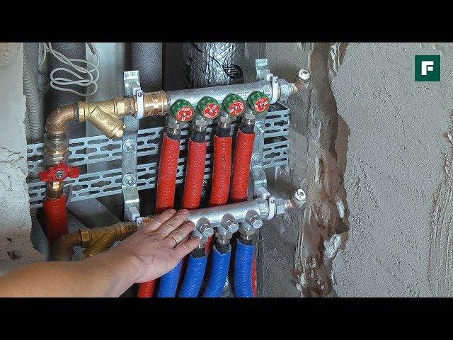 Проводка отопления и водоснабжения: интересные советы от специалистов //FORUMHOUSE