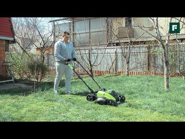 Как добиться идеального газона. Выбираем аккумуляторную газонокосилку и триммер // FORUMHOUSE